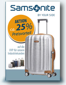 Aktion Samsonite 25%