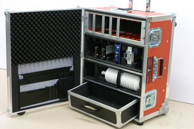 Gerätekoffer Einbauten