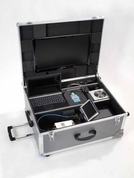 Gerätekoffer techn. Einbauten
