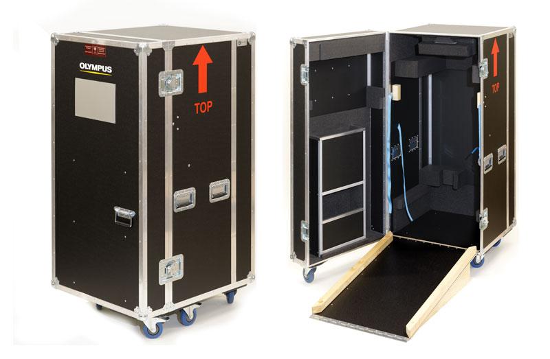 Flightcase mit Rampe