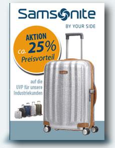 Aktion Samsonite 25%