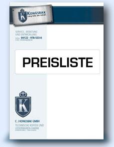 Kongsbak Preisliste